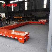 洛阳拖链式平车 取电装置车间转运设备抱轴减速机