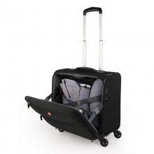 十字勋章 拉杆箱16英寸机长箱男女旅行登机箱商务出差小型行李布箱