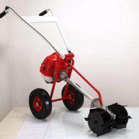 果园荒地汽油除草机 便携式二冲程汽油割草机 苹果园割草机