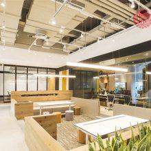 合肥互联网企业装修 大气舒适的空间 客户更会信任