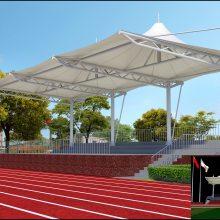 太原学校膜结构看台,运动场舞台,运动场观礼台