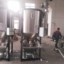 PC/ABS合金料颗粒3吨不锈钢立式搅拌机混料机 塑料颗粒烘干拌料机