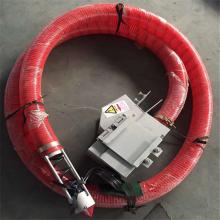 牛筋软管上料机 电动车载式吸粮机 软管小型抽沙机