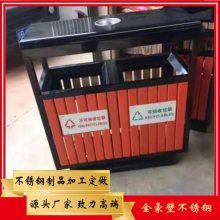 酒店大堂不锈钢两分类垃圾箱/室内双桶垃圾箱佛山不锈钢垃圾桶来图定制