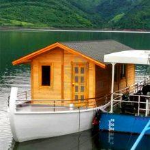 JD-FC001水上房船厂家定制水上木屋价格