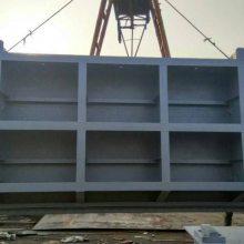 800*800翻板铸铁闸门-液压翻板闸门的安装技巧