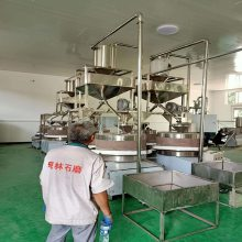 双锅墩油机 灌装设备 燃气炒锅 传统小磨香油 电动石磨香油机豆浆机石墨石磨成套设备 芝麻酱机器