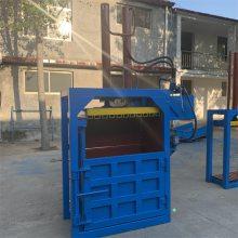 江苏油漆桶压扁机 废料薄膜打包机 立式易拉罐压扁机价格