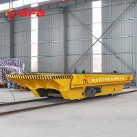 河南轨道平车厂家 KPT系列手动轨道平板车 拖电缆电动平车 无线遥控控制