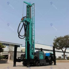 定做飞达FY280履带式水井钻车 气钻打井设备 岩石气动钻井机效率高