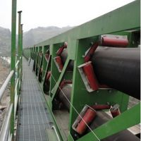 呼和浩特管状带式输送机 矿石专用价格低