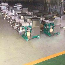 供应小型型采鱼泥机 鱼骨分离机 鱼肉采肉设备 明敏机械制造