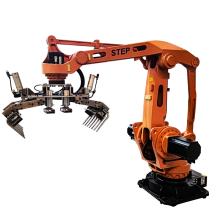自动化集成 STEP新时达码垛机器人SP120 塑料粒子包装线后道码垛机器人 PP塑料粒子码垛机械手