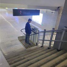 崇明县斜挂梯类升降机 二维斜挂电梯价格 疗养院轮椅升降平台情有独钟厂家