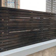 防腐木栅栏木质护栏实木围栏网格格栅定做南京木结构工程厂家