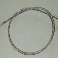 供应SUS304美标高强韧性钢丝绳 挂具牵引钢丝绳