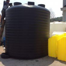 君益平底圆柱型PE储罐 20立方塑胶水箱