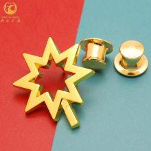 定制锌合金、纯铜小徽章,金属纪念奖章制作厂家