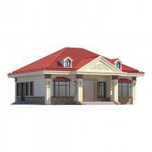 宜良农村轻钢别墅自建房户型图纸昆明顺筑公司设计生产专用轻钢龙骨