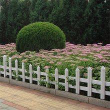 新农村PVC小栅栏 新型草坪护栏 绿化带花池栏杆