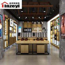 山东潍坊商场货品展示架展示柜货架鞋柜眼镜展示柜化妆品柜定做厂家