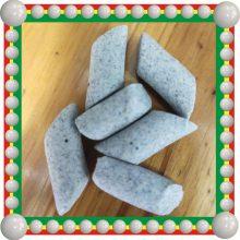 湖州生产棕刚玉磨料 正斜三角形研磨石 抛磨块 倒角去氧化皮