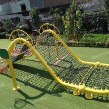 亲子乐园互动爬网 大型户外异形攀爬网 儿童体能拓展闯关训练厂家定制