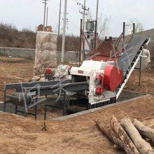 山东木屑颗粒机厂家,时产1-1.5吨树枝颗粒生产线设备