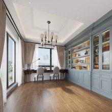 至德路9号别墅设计,联排端户简美风格装修效果图,天古装饰大学城店地址