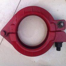 125泵管管卡 泵管卡箍 地泵低压高压管卡 80管卡