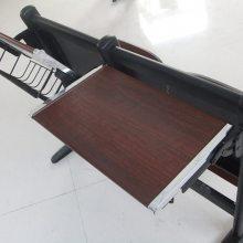 陕西校用阶梯教室连排课桌椅 多种连排椅批发