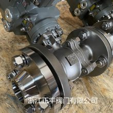 Q941F电动法兰式不锈钢球阀