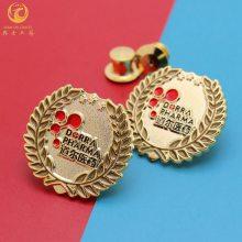 定制锌合金胸章定制,协会活动纪念徽章,金属标牌制作