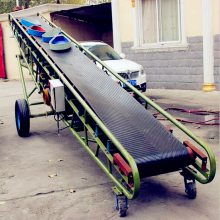 10m长粮食输送机 装卸用皮带输送机KL