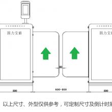 公交站高铁BRT站台安全门楼宇广告屏蔽门