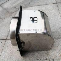 高密闭不锈钢烟道逆止阀 厨房排烟防火止回阀