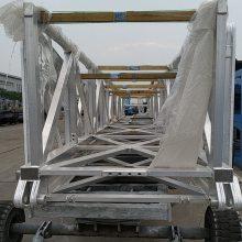 铝臂架焊接、大型铝合金臂架结构焊接、大截面挤压铝合金臂架型材焊接