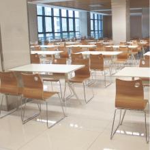 厂家直销简约分体餐桌/食堂餐桌/学生餐桌/联体餐桌/简约餐桌/钢木餐桌/桌面多层板