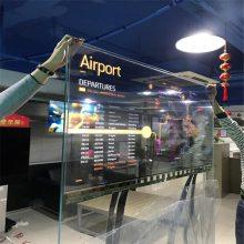 广州华羿OLED透明屏 OLED透明显示屏支持定制生产 超高清OLED透明屏