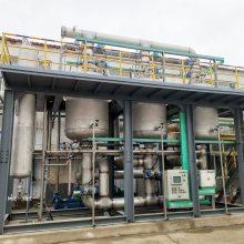 采用大孔树脂吸附处理化工行业排放的卤代烃废气处理装置