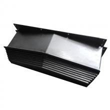 广纳钢板导轨防护罩_东营防冷却液防护罩_组合机床防护罩厂家销售