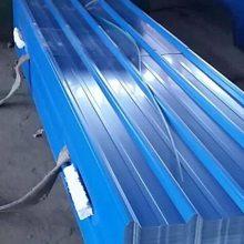 屋面彩钢琉璃瓦 ASA合成树脂瓦 天蓝色彩钢瓦加工厂