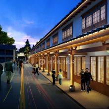 旅游街区规划、街景设计、古镇规划、街道规划设计、景区打造设计、乡村规划