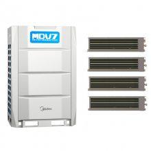 北京美的商用空调MDV7系列 美的变频多联机组 美的商用风管机 天花机