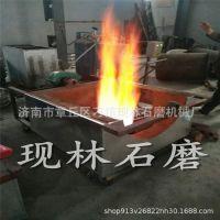 花生酱石磨 香油磨 200 环保燃气炒锅 搅墩晃油机 厂家直销