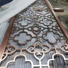 金属花格吊顶不锈钢花格灯罩金属花格室内效果图