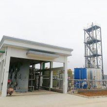 用吸附树脂处理含有苯系挥发性有机物废气的方法