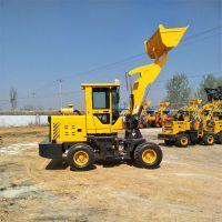 小型轮式装载机 液压助力转向的轮式装载机 农用抓草机