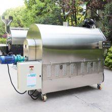300型自动炒芝麻机器 300公斤炒货机一次炒多少斤花生 南阳东亿