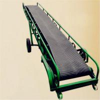 50公斤袋料装车用输送机 可移动调速输送机